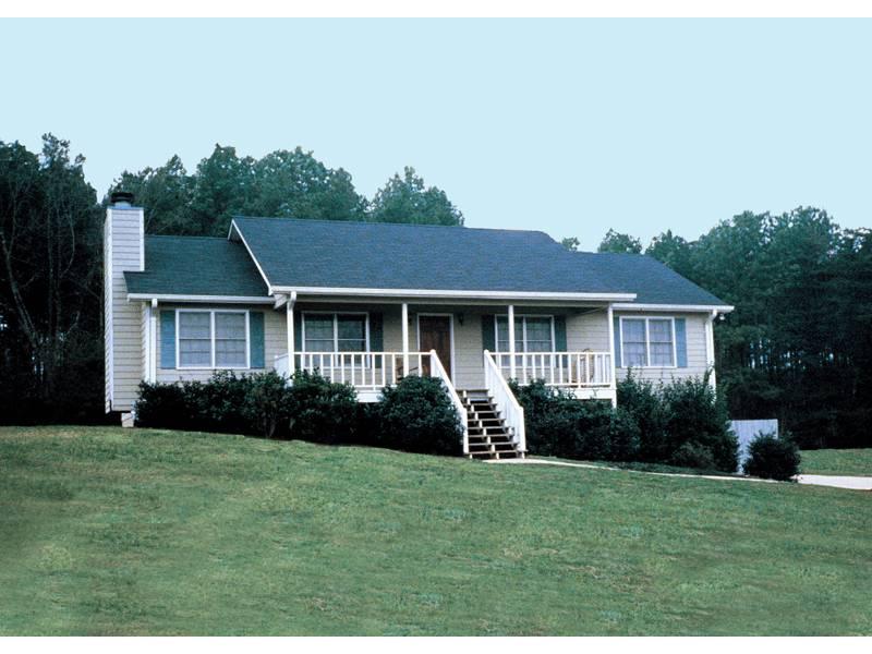 Ranch Home Plans Front Porch Design