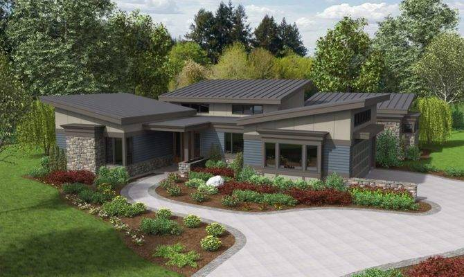 Ranch Home Plans Modern Homes Hackberry