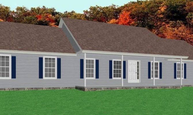 Ranch House Floor Plan Foundation Car