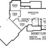 Ranch House Floor Plans Angled Garage Bungalow