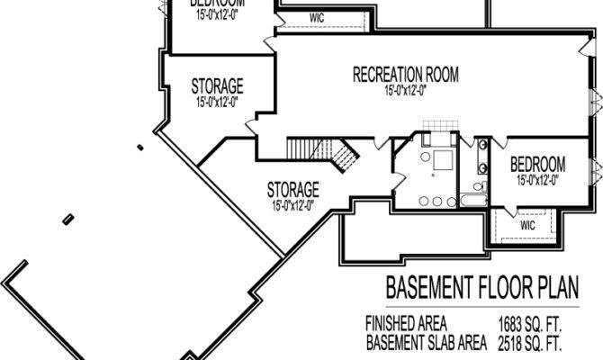 Ranch House Floor Plans Angled Garage Bungalow Home Plans Blueprints 58455