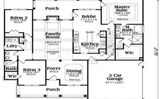 Ranch House Floor Plans Unique American Home