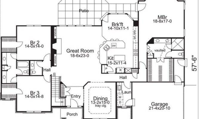 Ranch House Plan Alp Chatham Design Group Plans