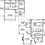 Ranch House Plan Ardella Floor