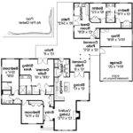 Ranch House Plan Darrington Floor