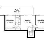 Ranch House Plan Gatsby Second Floor