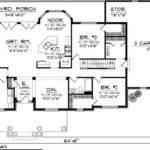 Ranch House Plan Plans Floor