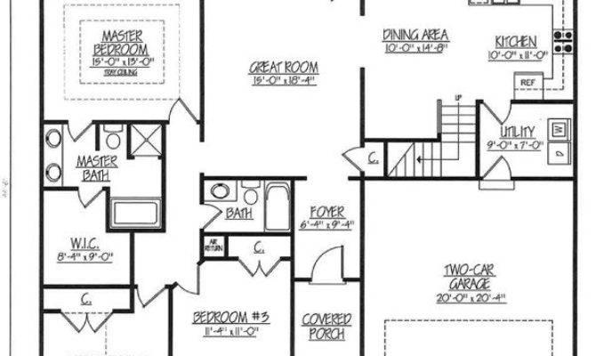 Ranch House Plans Best Floor