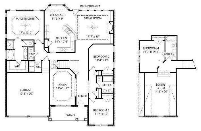 Ranch House Plans Bonus Room Above Garage Fresh Home Plans Blueprints 150050