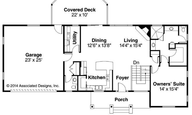 Ranch House Plans Gatsby Associated Designs