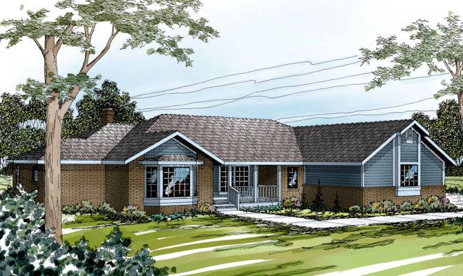 Ranch House Plans Grayling Associated Designs