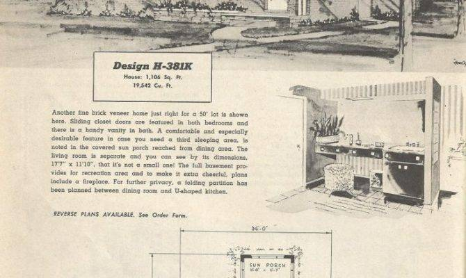Ranch House Plans Lovely Vintage Mid