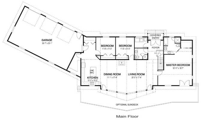 Ranch House Plans Single Level One Story