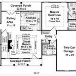 Ranch House Plans Square Feet Home Design Style