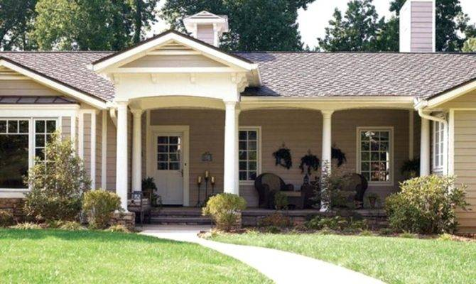 Ranch Style Homes Exterior House Colors