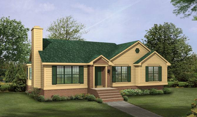 Ranch Style House Plans Lots Windows