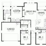 Ranch Style House Plans Square Feet Eplans Cottage Plan
