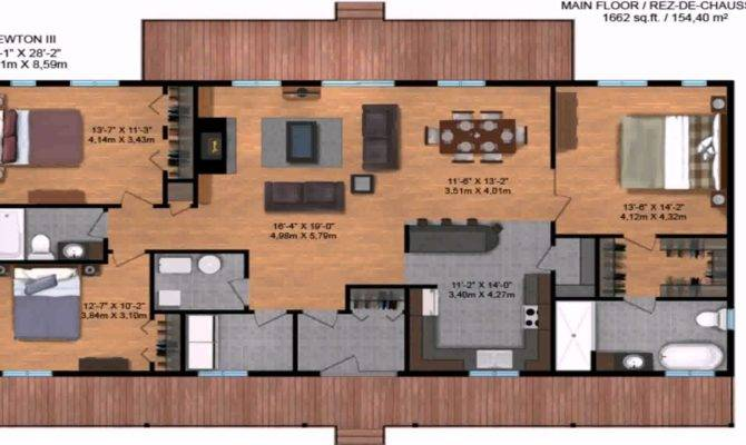 Ranch Style House Plans Under Square Feet Youtube