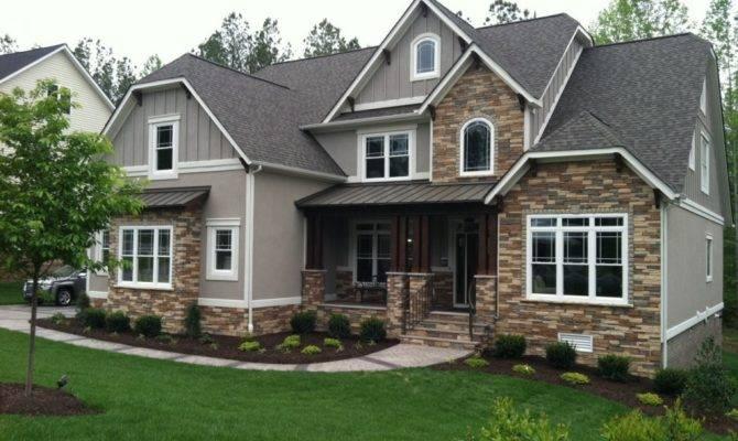 Ranch Style House Siding Design