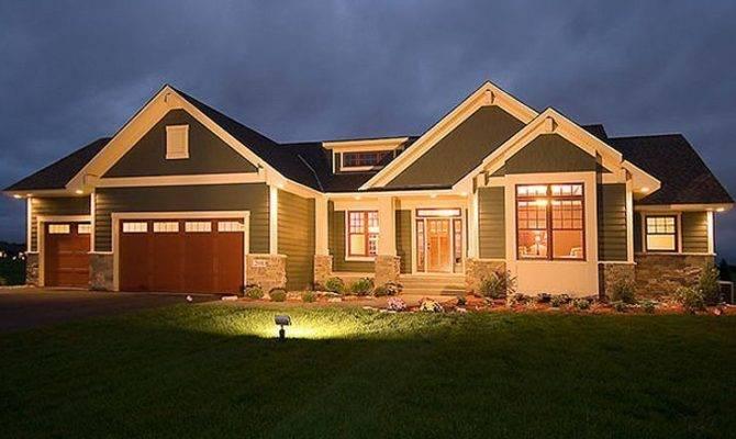 Ranch Walk Out Basement House Plans Home