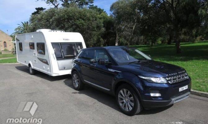 Range Rover Evoque Tow Test Motoring