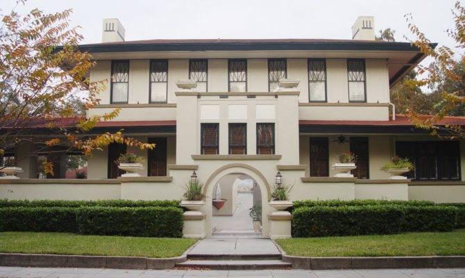 Rare Prairie School Style House Built