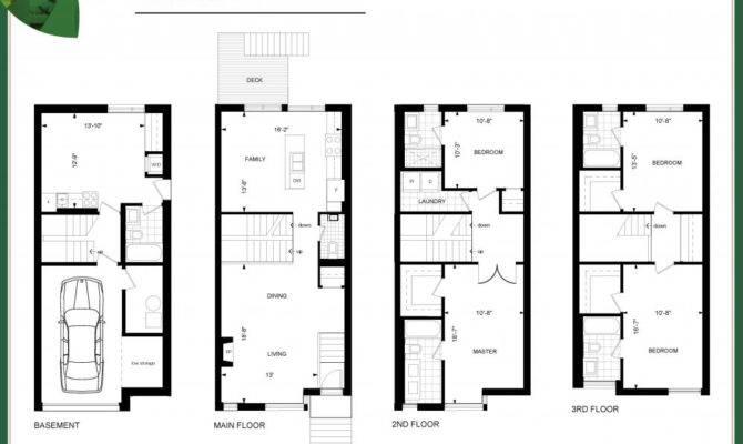 Ravines Lawrence Toronto Maple Model Floor Plans