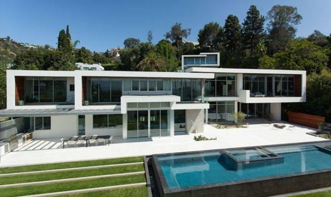Read Next Hollywood Villas Modern Multi Million Mansion Sunset