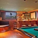 Rec Room Bar Area Pinterest Pin