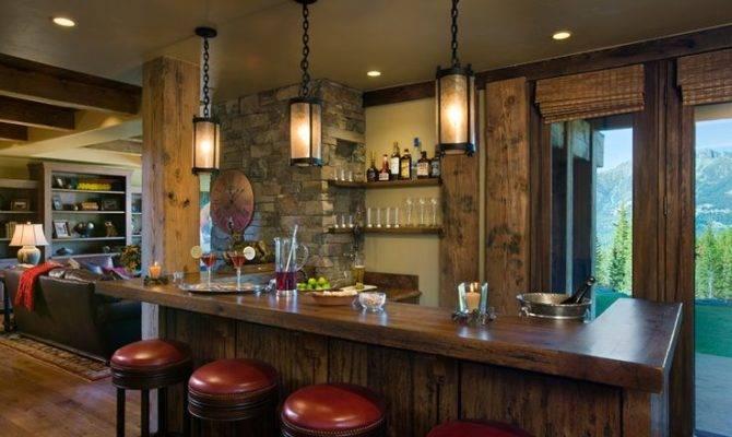 Rec Room Bar Home Pinterest