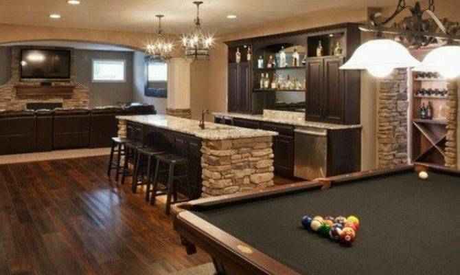 Recreation Room Bar Media Pinterest