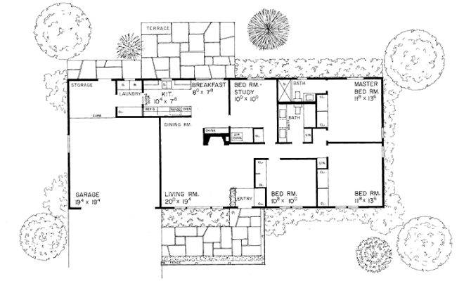 Rectangular Floor Plans One
