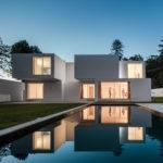 Rectangular Volume House Design Architecture Home Inspiration