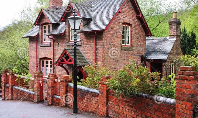 Red Brick English Village House