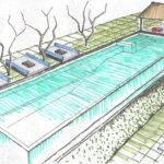 Reflection Pool Swimming Infinity