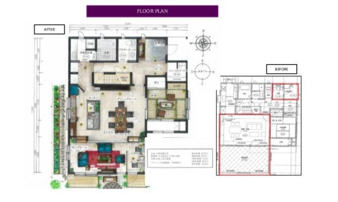 Refurbishment Plan Japanese Style House