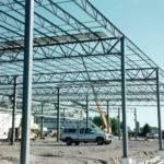Reinforcing Steel Frame Solarcrete Building