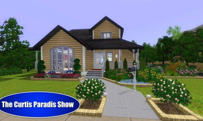 Related Sims House Blueprints Modern