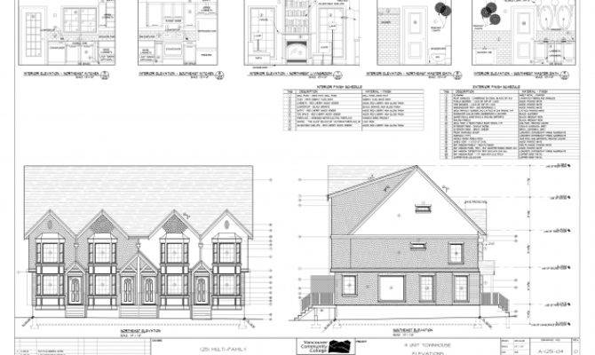 Remarkable Multi Residential Town House Plans