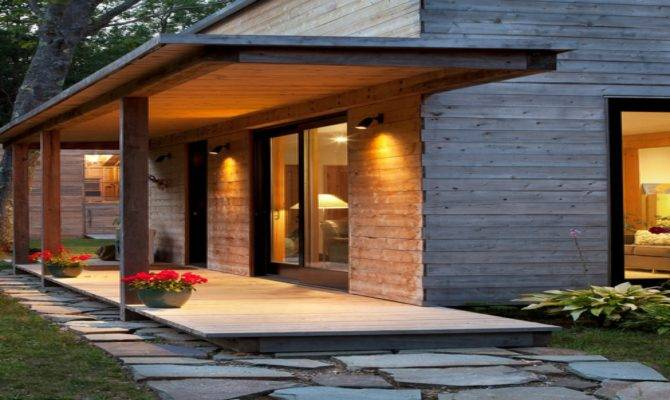 Remodel Porch Expensive Front Porches Modern Contemporary