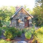 Replica Thoreau Cabin Some Nice Stonework Slate Roof