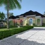 Residential Architecture Luxury Bedroom Bungalow Ido Type