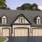 Residential Bay Garage Plan Floor Master Suite Cad