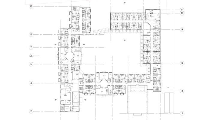 Residential Care Home Proposed First Floor Plan Brooke