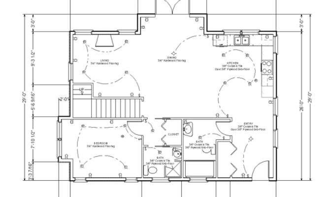 Residential House Floor Plan Home Deco Plans