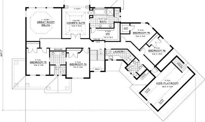 Residential House Floor Plan Home Deco Plans