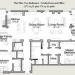 Residential House Plan Floor Plans