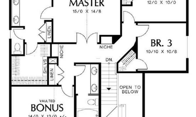 Residential House Plans Design Bookmark