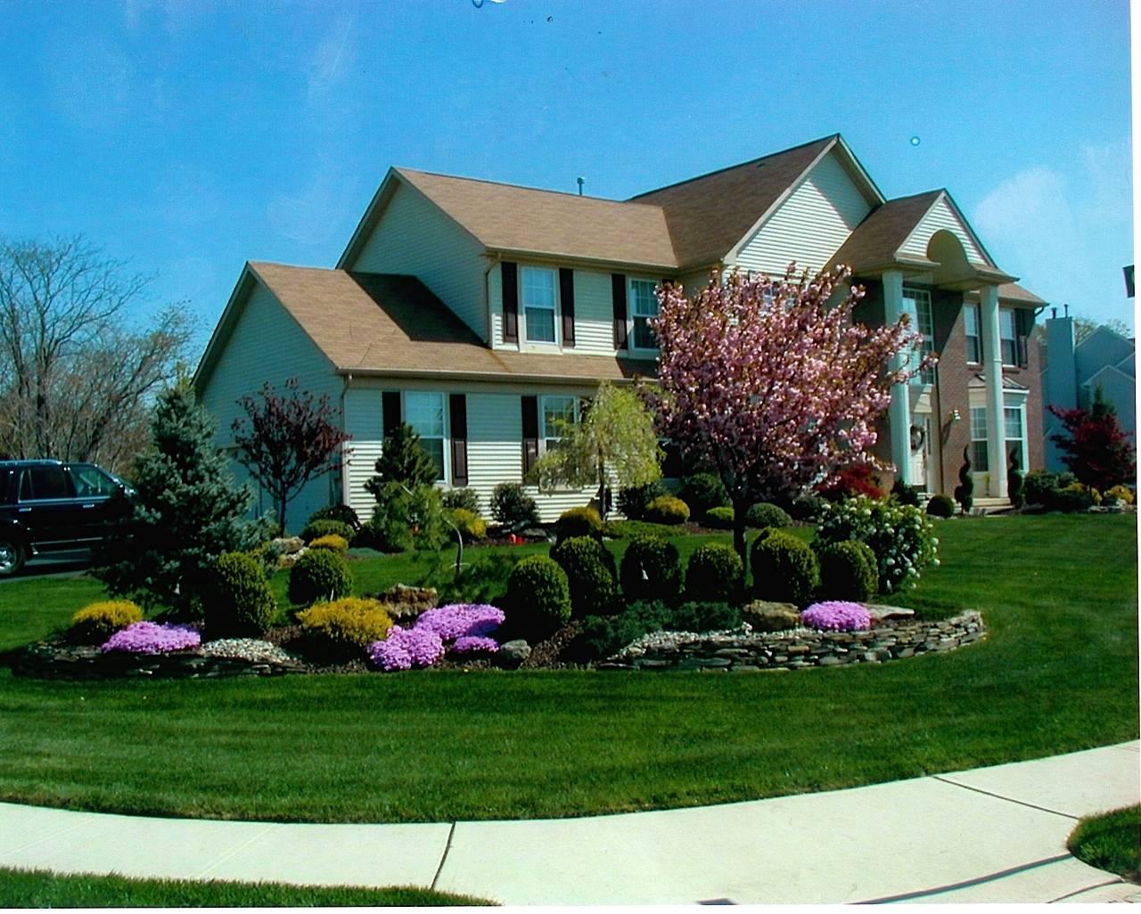 Residential Landscape Design Corner Lot