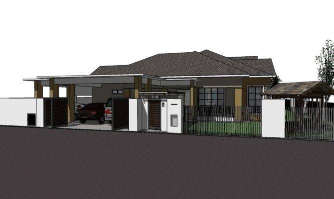 Residential Proposed Single Storey Bungalow Tanjung Lumpur